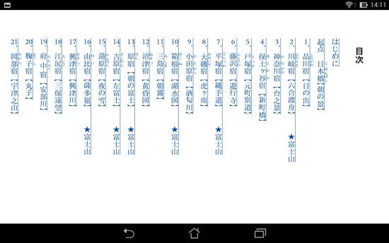 HTML目次-リフロー型